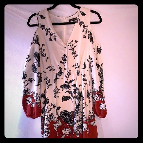 Strut & Bolt Dresses & Skirts - Strut & Bolt Cold Shoulder Dress